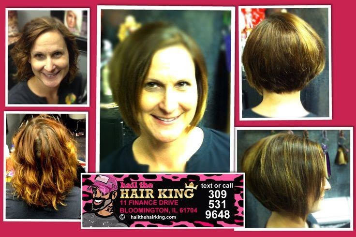 Hair Salon Before And After Bloomington Il Hail The Hair King