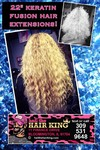 protein fusion hair extensions
